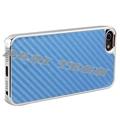 iPhone5 Case Blue Carbon Fiber