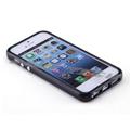 iPhone5 Case Black TPU Silicone Bumper