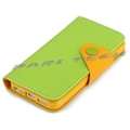 iPhone 5 Case Leather Flip Wallet Case