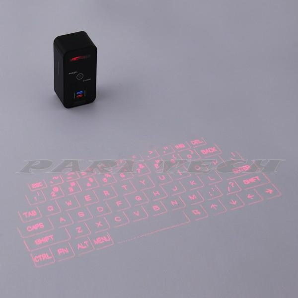 Keyboard Bluetooth USB Magic Cube Laser Projection Virtual Keyboard for iphone 3
