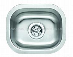 Stainless Steel Kitchen Sink SU1512A1