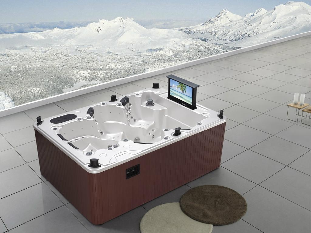 Outdoor spa wholesale jacuzzi wholesale deluxe hot tubs - Cheap whirlpool bath ...