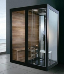 steam shower room steam sauna room Dry and Moist steam room for 2 person(M-8287)