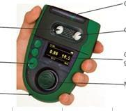 便携式气体检测仪 O2+CO2