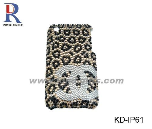 phone case with crystal new i phone 4 case crystal beaded ip44 kinder china mobile
