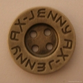 custom made metal  sewing buttons