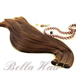 100% Human Hair Weft Hairextensions 1