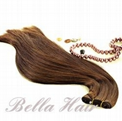 100% Human Hair Weft Hairextensions