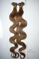 Stick I-tip Pre bonded Chinese and Indian Human Hairextensions 2