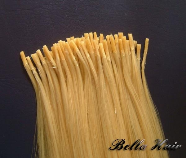 Stick I-tip Pre bonded Chinese and Indian Human Hairextensions 3