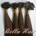 Flat tip Pre-bonded Chinese and Indian Human Hair Extensions 5