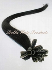 Nail U-tip Pre-bonded Chinese and Indian Human Hairextensions