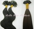 Nail U-tip Pre-bonded Chinese and Indian Human Hairextensions 2