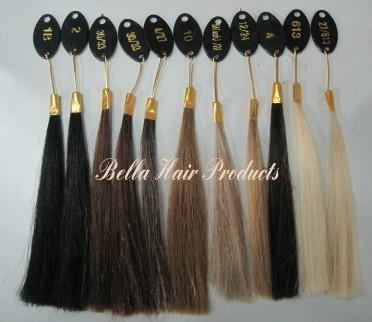 Clip in Full Head Set Chinese and Indian Human Hair Extensions 5