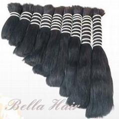 Hair Bulk 100% Human Hair High Quality Virgin