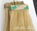PU Skin Weft, 100% Chinese and Indian Human Hair Weave Hair Extensions 3