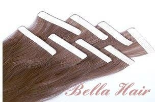 PU Skin Weft, 100% Chinese and Indian Human Hair Weave Hair Extensions 5