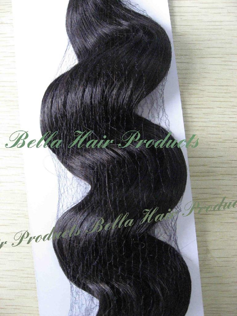 Loos Deep Hair Weft Extensions 100% Chinese and Indian Human Hair  3