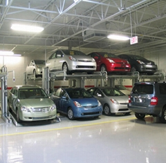 (CE Stacker)Indoor Parking Lot Use