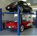 Private Carport Use Simple Light Duty Double Pallet Stacker Car Lift/Hoist 1