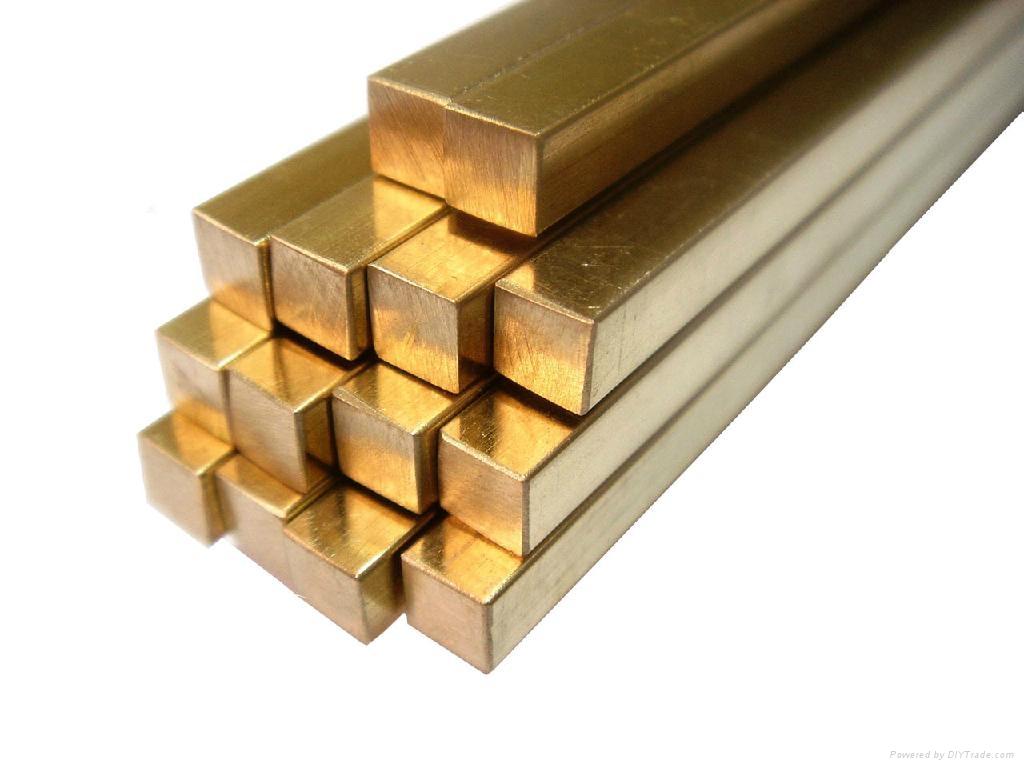 Uns c beryllium copper square bar alb
