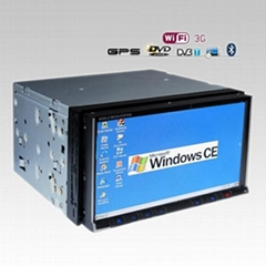 """6.95""""Touch Screen Digital LED Panel Car PC Player in dash dvd player car dvd"""