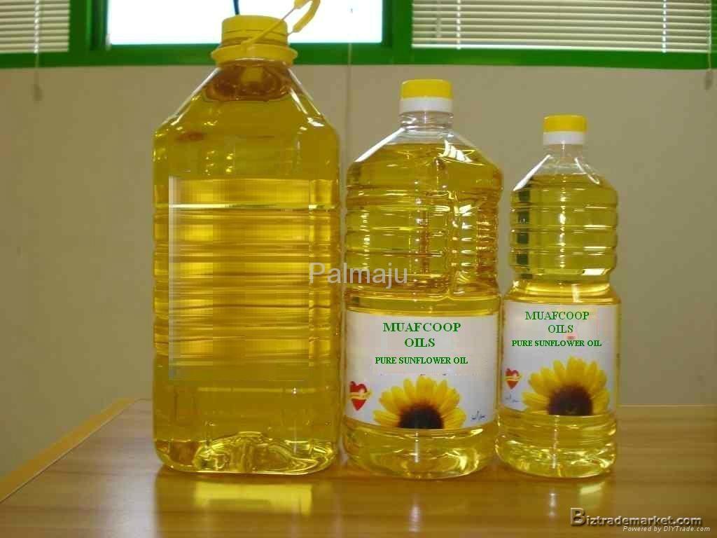 Pure Refined Sunflower Oil  1
