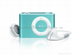 Wholesale Hot Sale Copy Ipod Shuffle 2th MP3 Players Built in Clip