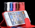 Hottest sell leather iphone case new style protector case for iphone 5