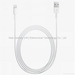 闪电接口转USB2.0转接线苹果5数据线