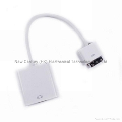 ipad/iphone/ipod 转HDMI(USB输出/HDMI输出)