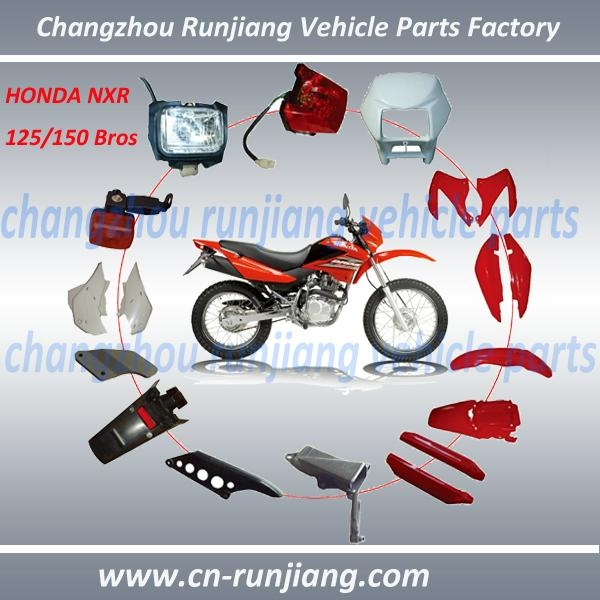 For honda motor parts motorcycle lights fender body cover for Motorcycle starter motor repair