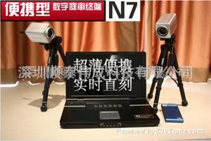 便携型数字庭审主机N7 1