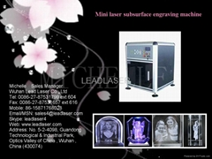 3D portrait laser subsurface engraving machine
