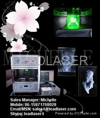 Compact 3d crystal laser engraving machine