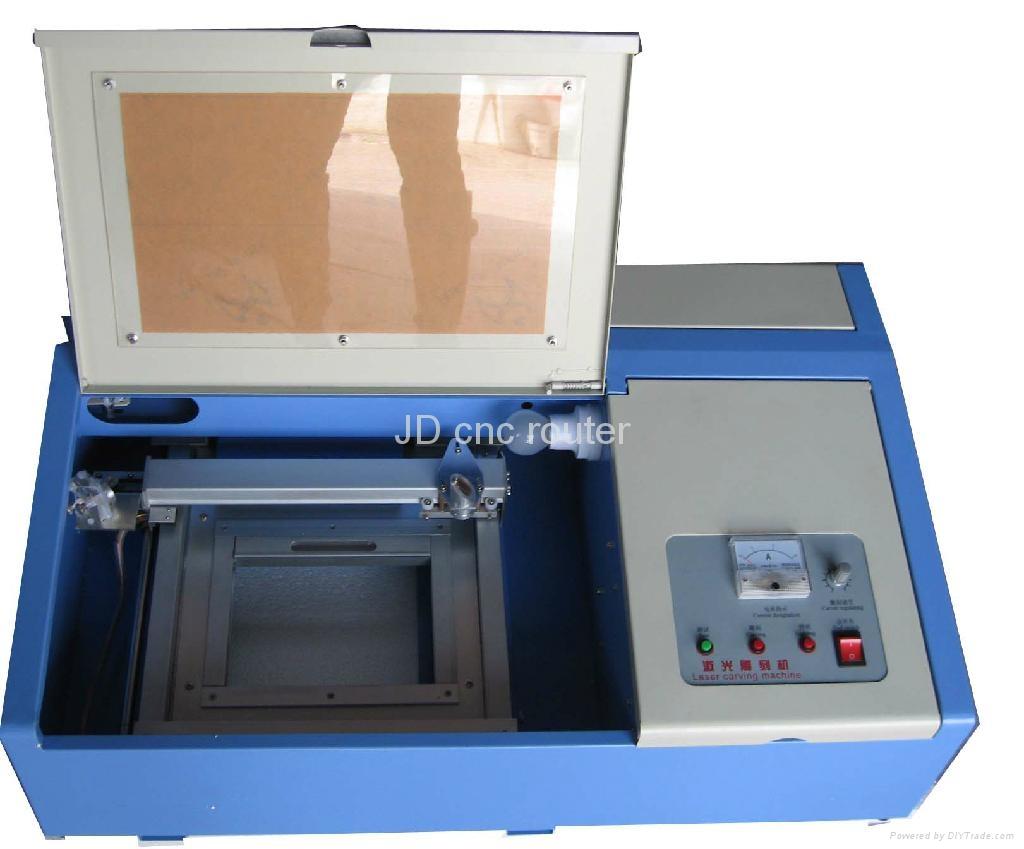 激光印章雕刻機JD40W 1