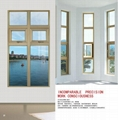 Aluminum casement window 1
