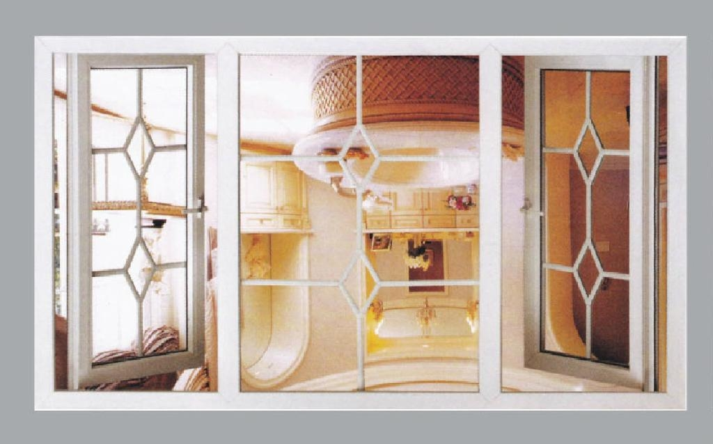 Aluminum casement window 2
