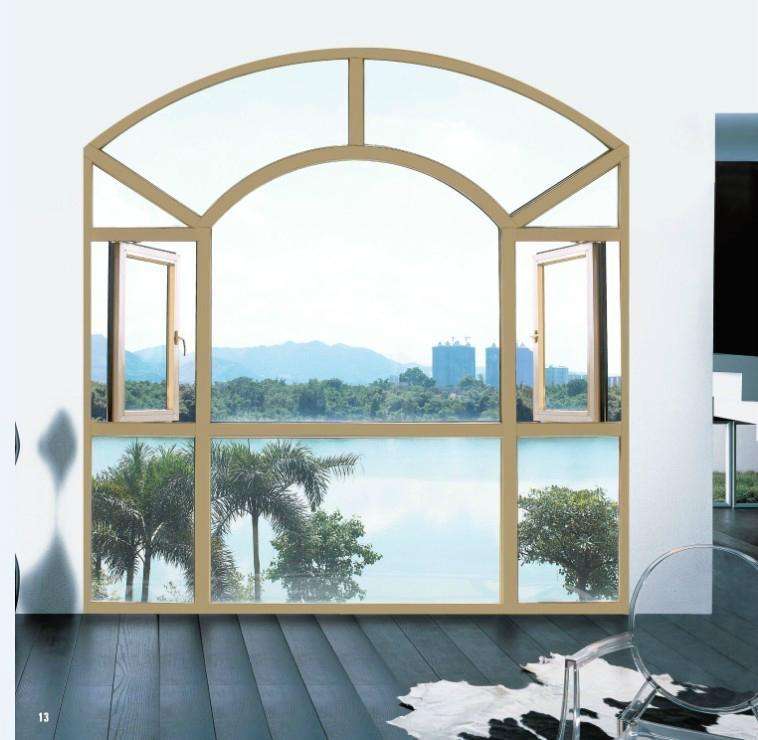 Aluminum casement window 4