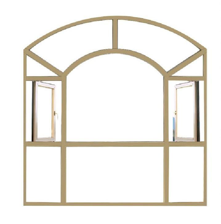 Aluminum casement window 5