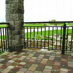 Aluminum guardrail
