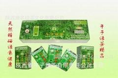 午子綠茶精品100g條裝 天然鋅硒