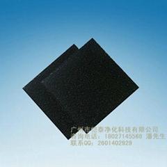 activated carbon sponge