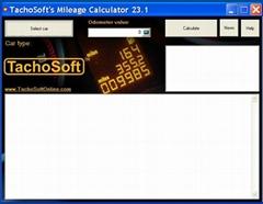 Newest Tachosoft Mileage Calculator V23.1