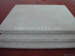 gypsum wood fibre board