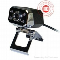 HD webcam with 6 Led lights KZS077