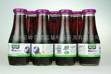 野生蓝莓果汁饮料300ml 3
