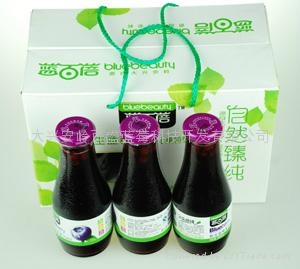 野生蓝莓果汁饮料300ml 4