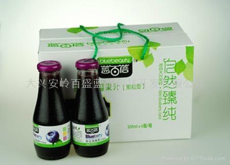 野生蓝莓果汁饮料300ml 5