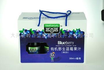 蓝百蓓有机野生蓝莓果汁300ml 2